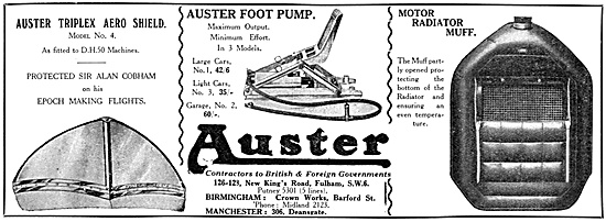 Auster Aircraft Accessories