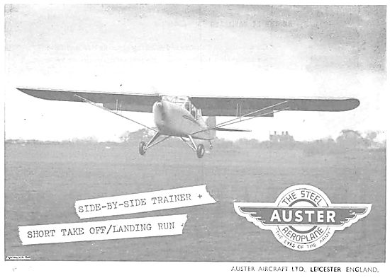 Auster Aircraft. The Eyes Of The Army