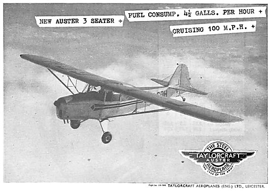 The New Auster 3 Seater