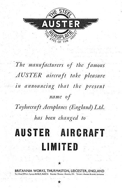 Auster Aircraft
