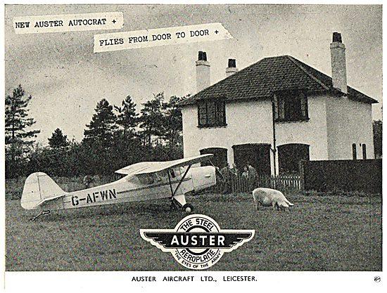 Auster Autocrat G-AFWN