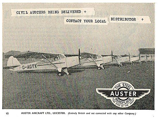 Auster  G-AGTX
