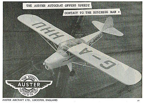 Auster Autocrat G-AHHU