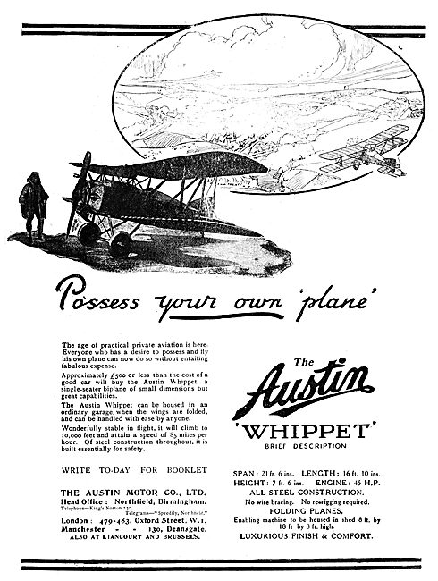 Austin Motor Co - Austin Whippet