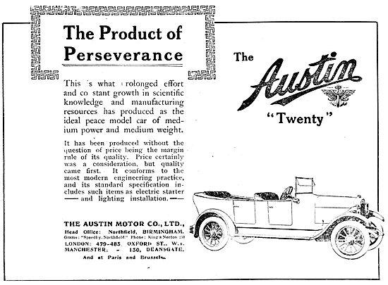 Austin Twenty 1919