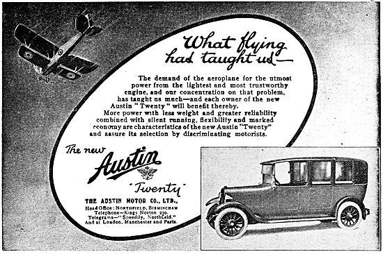 Austin Twenty - Austin 20 Motor Car 1919