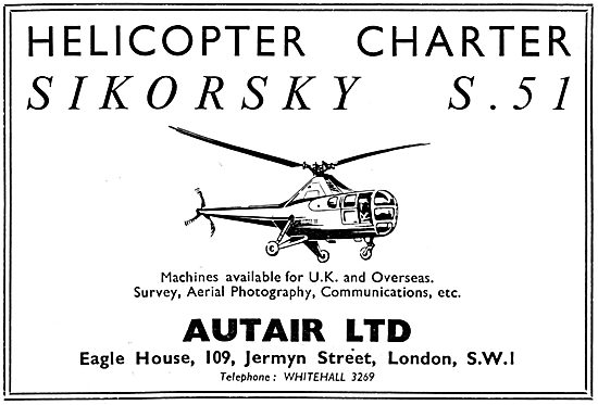 Autair Helicopter Charter - S.51