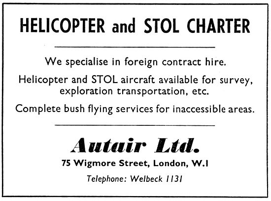 Autair Helicopter Charter