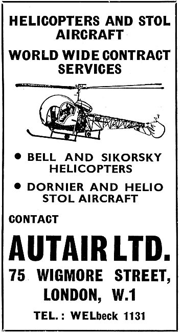 Autair For Bell & Silkorsky Helicopter Service. STOL Aircraft
