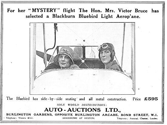 Auto Auctions Heston Sole Distributors For The Blackburn Bluebird