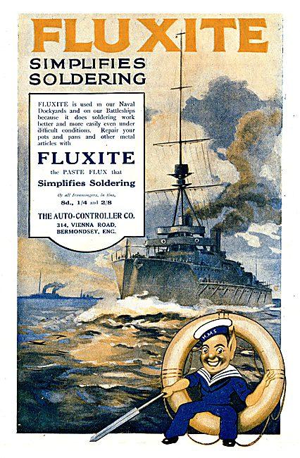 Fluxite Soldering Flux