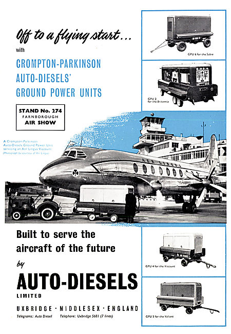 Auto Diesels Crompton-Parkinson Ground Power Units
