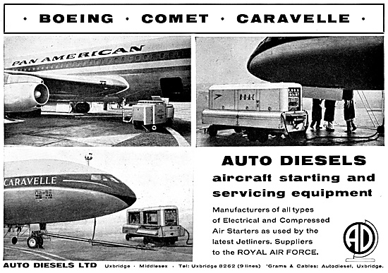 Auto Diesels Aircraft Starting & Servicing Equipment. GPU