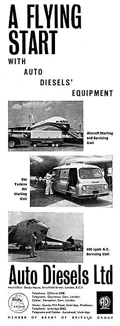 Auto Diesels Aircraft Ground Power Units - GPU