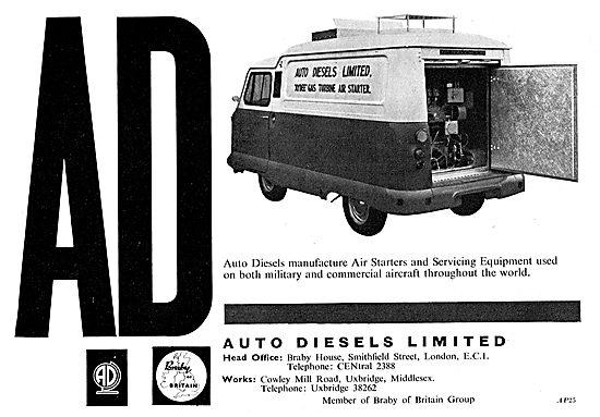 Auto Diesels Aircraft Air Starters