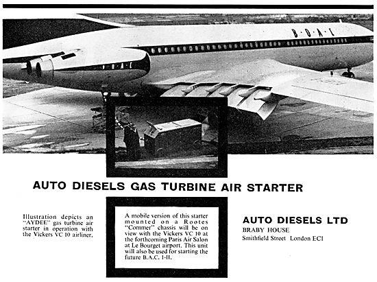 Auto Diesels AYDEE Mobile Gas Turbine Air Starter