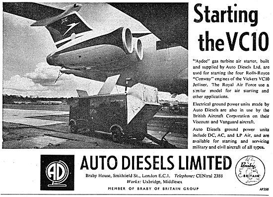Auto Diesels AYDEE Gas Turbine Air Starter