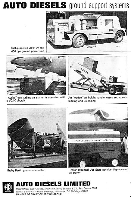Auto Diesels Airfield Ground Support Equipment - Tugs Trollies