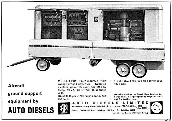 Auto Diesels Ground Power Units (GPU) & ground Support Equipment