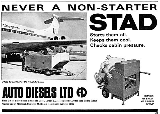 Auto Diesels Cabin Conditioning Trolley