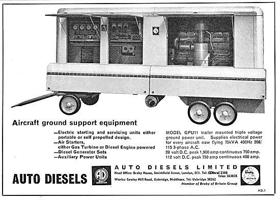 Auto Diesels Gound Support Equipment