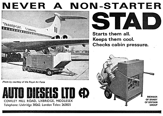 Auto Diesels Ground Support Equipment. Cabin Cooling Rig