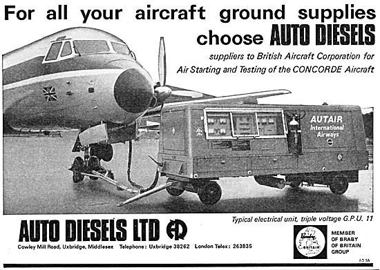 Auto Diesels Ground Support Equipment. Ground Power Units. GPU