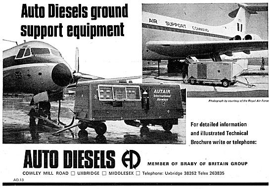 Auto Diesels Ground Support Equipment. Aircraft Starters GPU