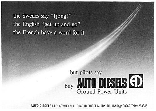 Auto Diesels Ground Support Equipment 1968