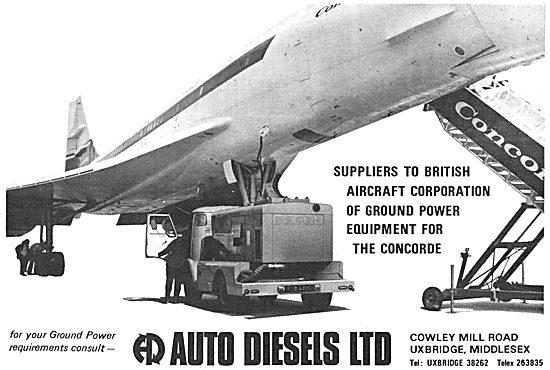 Auto Diesels Ground Power & Ground Support Equipment