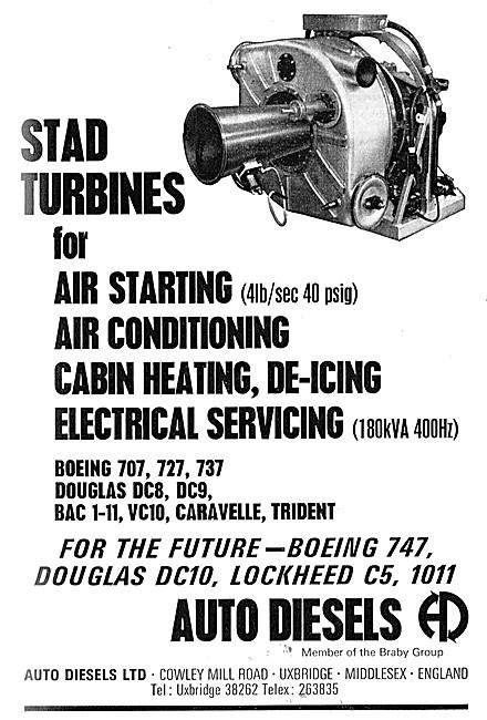 Auto Diesels. STAD Gas Turbines - STAD APU