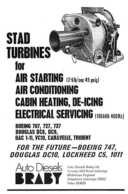 Auto Diesels Braby - STAD Gas Turbines. APU