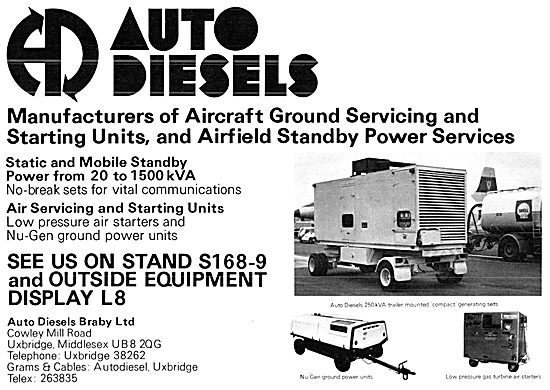 Auto Diesels Ground Power Units