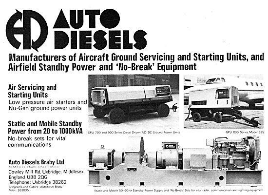 Auto Diesels Braby Ground Servicing Equipment
