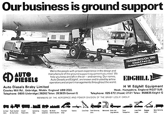Auto Diesels Edghill Aircraft Ground Support Equipment
