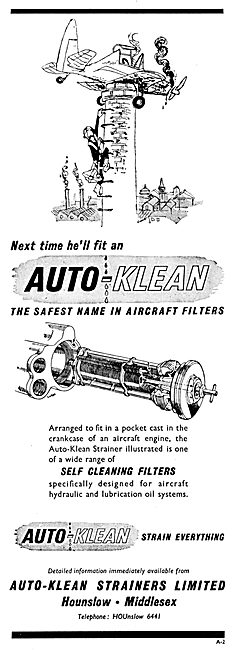 Auto-Klean Aircraft Filters