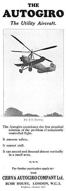 Cierva C.19  Autogiro