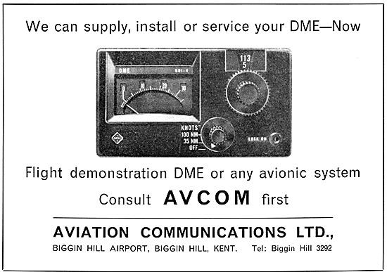 Avcom. Aviation Communications. Avionics Sales & Service