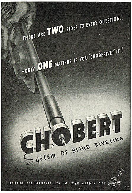 Aviation Developments - Chobert Riveting System
