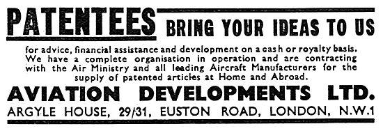 Aviation Developments Patentees