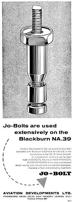 Aviation Developments Avdel Jo-Bolts