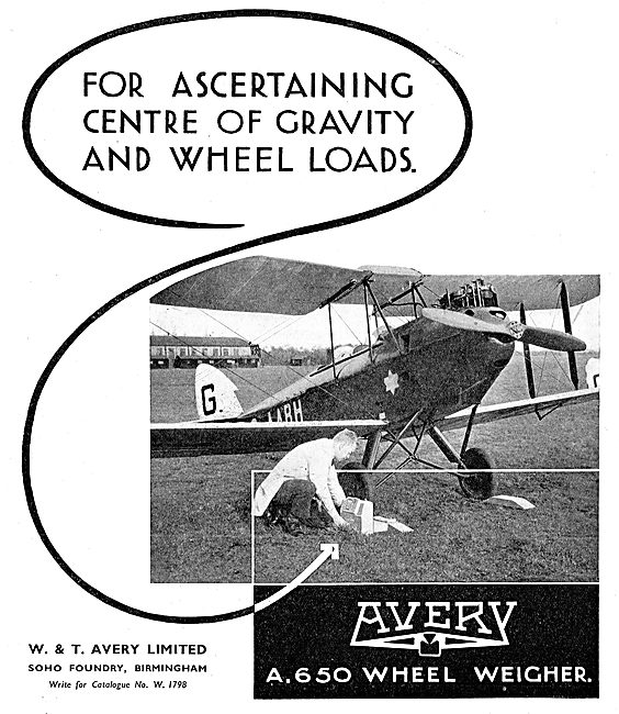 Avery A650 Wheel Weighing Equipment For Aircraft