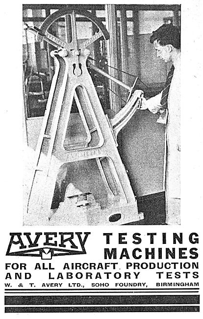 Avery Aircraft Production Test Equipment