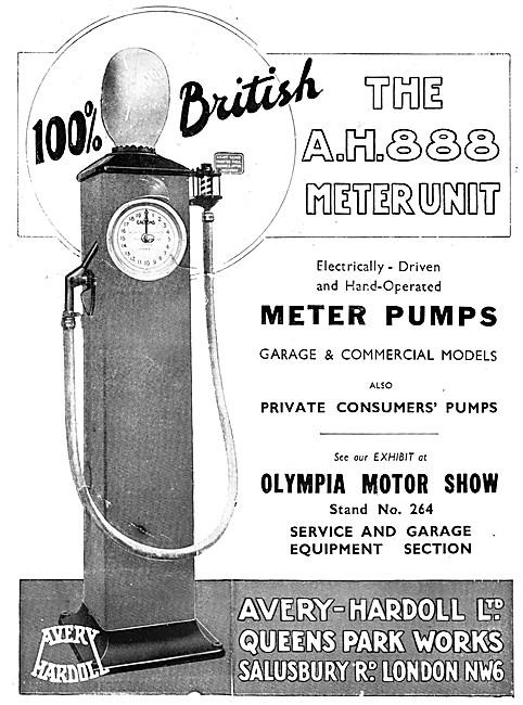Avery-Hardoll Meter Pumps - Avery-Hardoll Fuel Pumps