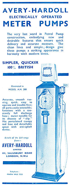 Avery-Hardoll Electrically Operated Meter Pumps