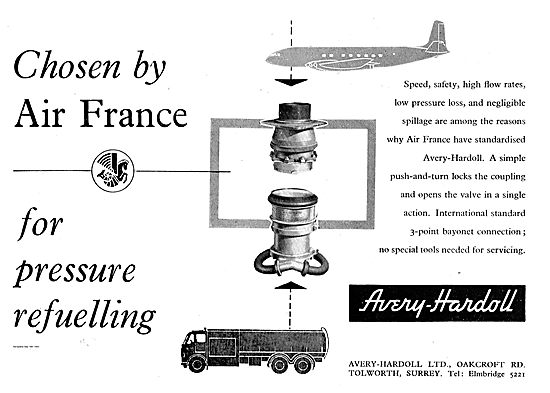 Avery-Hardoll Pressure Refuelling Coupling