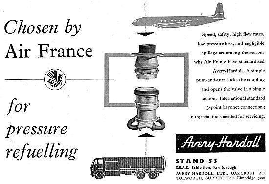 Avery-Hardoll Pressure Refuelling Couplings & Accessories