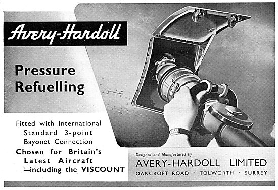 Avery-Hardoll Pressure Refuelling Couplings & Accessories