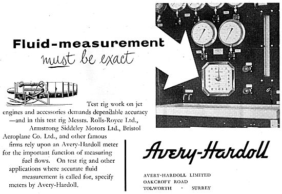 Avery-Hardoll Pressure Refuelling Components & Accessories