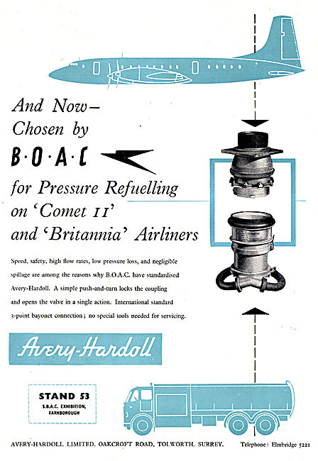 Avery-Hardoll Pressure Refuelling Equipment